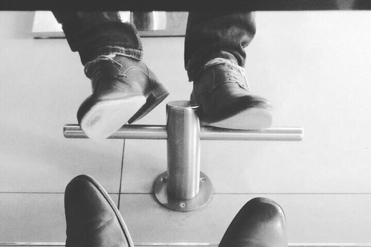 Shoes Style Gentlemen Classy Feet Sole Footsoles Shoes Of The Day Mirror Reflection That's Me Sitting Fashion Hairdresser Blackandwhite Black And White Black & White Black&white Eyeem Collection IPhone IPhoneography Iphonephotography Iphone Black&white Photography IPhone Photography
