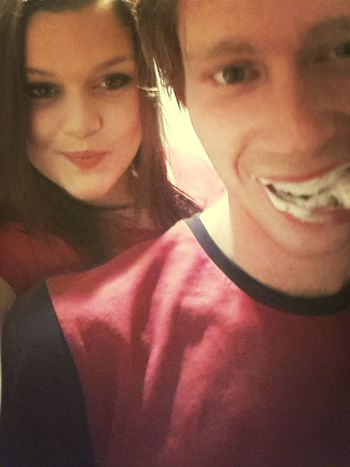 brushing teeth XD