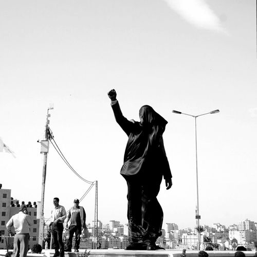 Today is the unveiling of Nelson Mandela Statue in Ramallah! I'm happy to be there to witness it. A gift from Johannesburg municipality as a symbol of solidarity with the people of Palestine. Palestine Ramallah West Bank Getty Getty Images Editorial  Nelson Mandela Statue Freedom Struggle EyeEm Team Open Edit