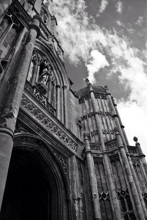 Christ Church Black & White Travel Photography Oxford Travel