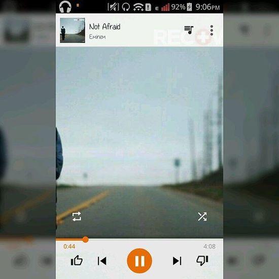 I'm not afraid 🎶🎧 Eminem Notafraid MarshallMathers Recovery Likeforlike Like4like Likesforlikes Likeforfollow