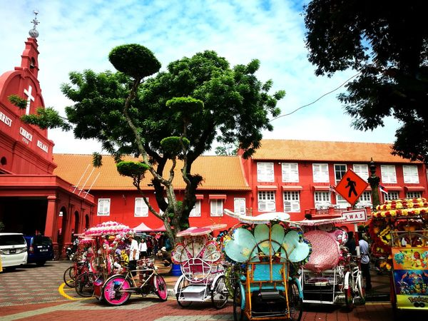 """""""The impulse of travel is one of the hopeful symptoms of life."""" It's a hopeful life. Live it🤘🏼 Outdoors Sky Tree Day Building Exterior Architecture Travel With Family Malacca Trip Wherever We Go,just Enjoy The Moment❤ Relax And Enjoy Be Awesome Do What You Love And Love What You Do❤ Walking Around Taking Pictures Peace Of Mind Jonker Street Malacca MomentsToRemember Blessing With Love Simple Things In Life Be Happy And Enjoy The Little Things Life Is A Trip Life Is A Journey Just Love Me For Who I Am  Be The Way You Are Freaking Awesome  Just For Fun"""