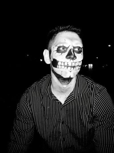 Halloween Makeup. Hello World Hi!