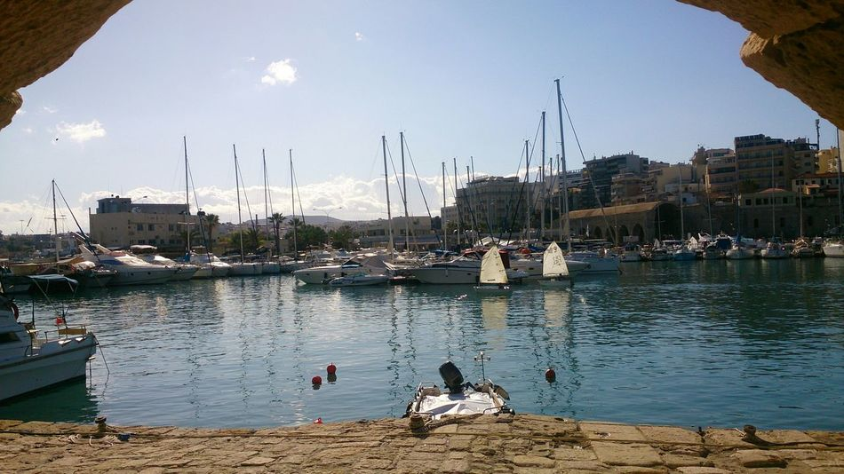 Crete Greek Islands Greece Mobile Photography Sony Xperia Z Limani Port
