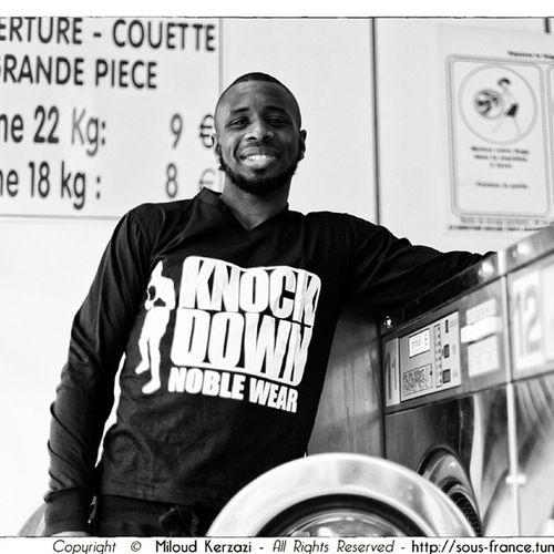 Portrait de Modibo Diarra Teeshirt Boxing