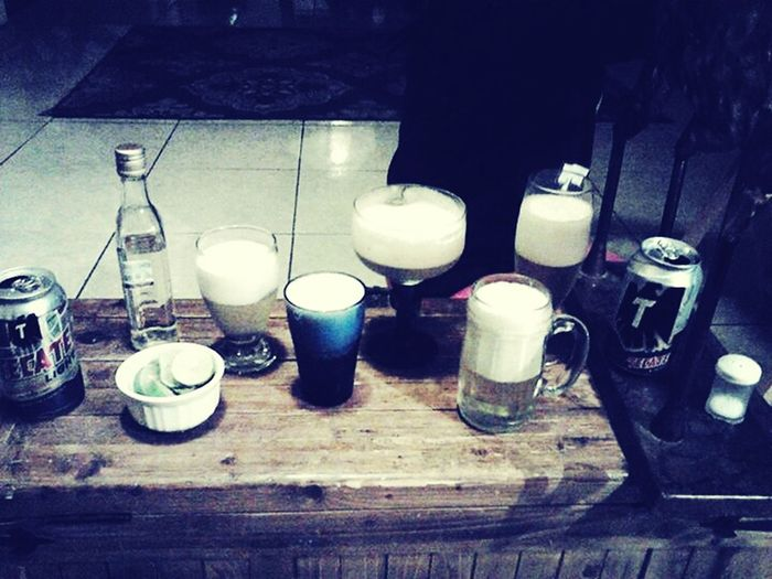Tequila Shots Beers Piña Colada Yommy