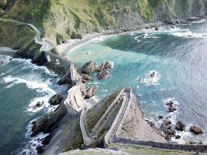 Bridge to island of san juan de gaztelugatxe