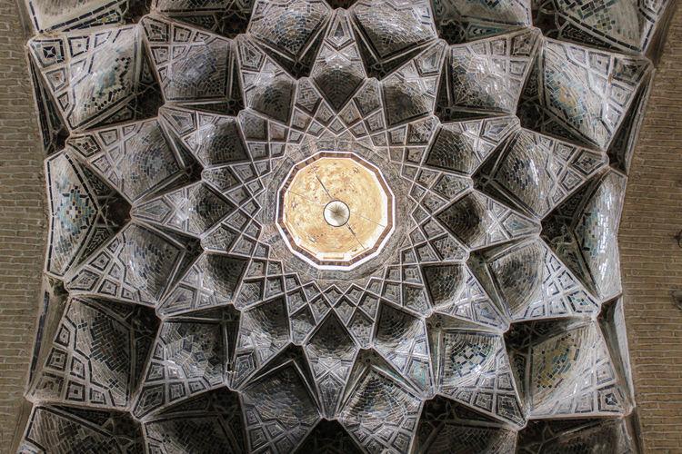 Architecture Cieling Iran Iranian Architecture Iranian Art Pattern Persian Architechture Persian Art Persian Tiles Tiles