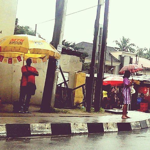 Quite a rainy Friday this is! Nigerians Naija Lagos Lagosnigeria nigeria streetphotography lagosrains rains rainyday africa westafrica