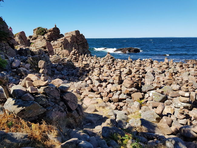 Sweden Hovs Hallar Photography Bildfolge Baltic Sea Nature Beauty In Nature Sky Blue Landscape Water Clear Sky Sea Beach Blue Sunlight Rock - Object Sky Horizon Over Water Pebble Beach Rocky Coastline Rock Formation Pebble Geology Physical Geography Coastline Natural Arch Coast