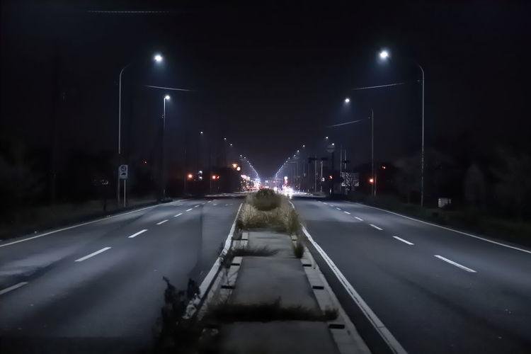Hello World Tadaa Community Japan Japan Photography Transportation Illuminated Road Night Nightphotography Car The Way Forward 17.62°