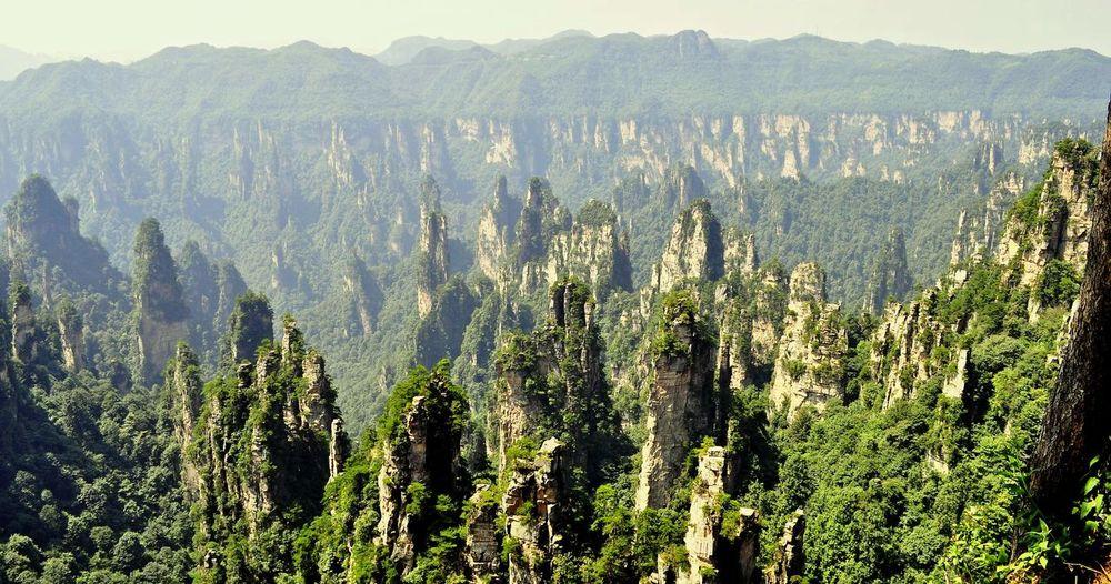 #avatarofChina #naturalbeautyChina #sunset #sun #clouds #skylovers #sky #nature #beautifulinnature #naturalbeauty #photography #landscape #zhangjiajie Beauty In Nature Godscreation Landscape Majestic Mountain Outdoors Scenics Tranquil Scene