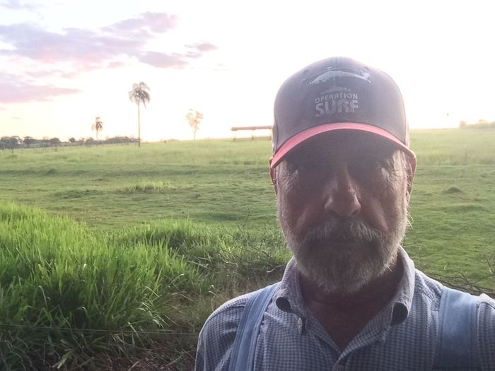 AVARE SAO PAULO BRAZIL Alone Cap Day Escapism EyeEm Team Farm Field Front View Getting Away From It All Grass Leisure Activity Lifestyles Looking At Camera Outdoors Person Portrait Real People Young Adult Young Men