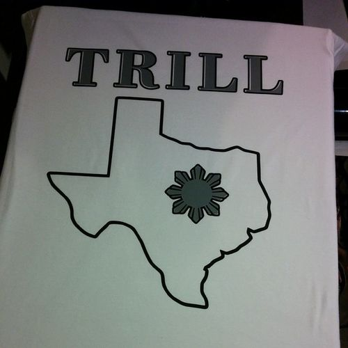 New tee made Trill Texas Birthplace Fthood killeen