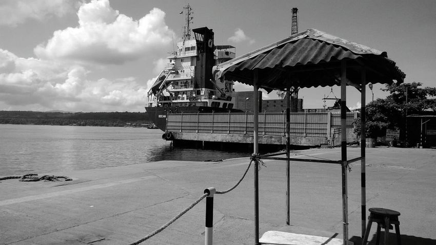 Pier Waiting Area By The Sea Welcome To Black Long Goodbye Long Goodbye Neighborhood Map Black And White Friday