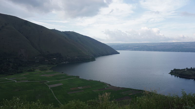 laketoba Scenics - Nature Beauty In Nature Water Tranquil Scene Sky Cloud - Sky Tranquility Sea Nature No People Mountain Environment Day Land Idyllic Landscape Plant Outdoors Non-urban Scene INDONESIA Samosir Island  Lake View LakeToba  Landscape_Collection Landscape_photography