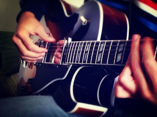 Music Jazz Guitar What Does Music Look Like To You?