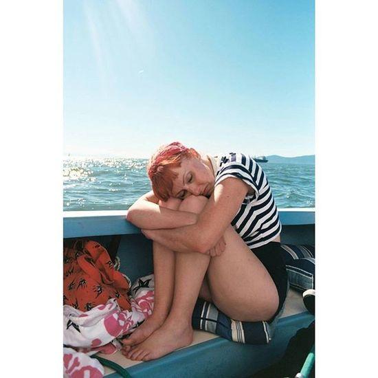 Beautiful hangover. Hangover Hungover 35mm Filmisnotdead film 35mmfilm ektar kodak sailing boat water blue fun potd