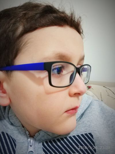 Eyeglasses  Headshot One Person Human Body Part Indoors  Portrait Close-up