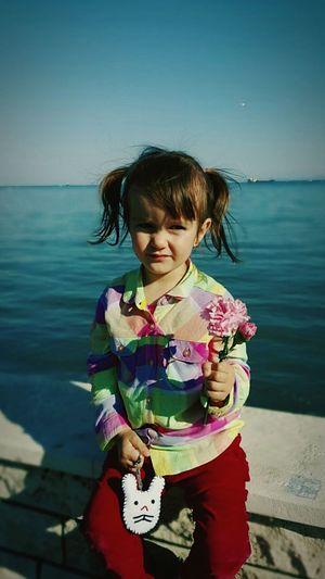 Herseyıyle guzel cocukluk yılları...✌Nıece Love Sweet♡ Zeynepumay SuperGirl! ✌ First Eyeem Photo