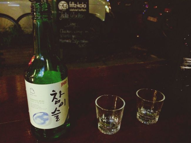 TeamSoju I ❤ Soju Drinking Soju