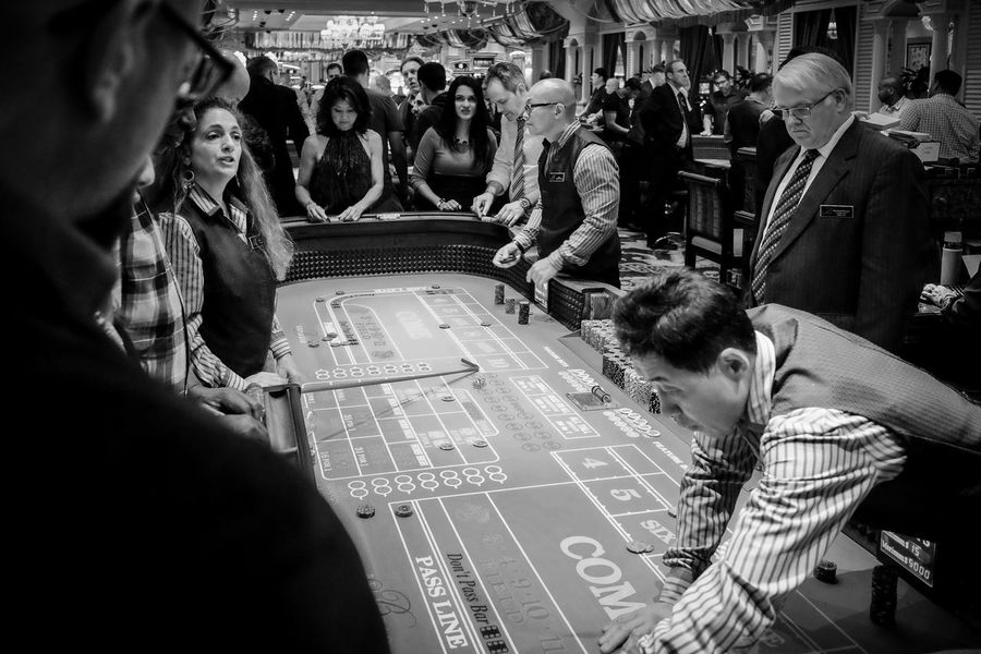Casino - Casino Adult Crowd Indoors  Large Group Of People Leisure Activity Lifestyles People Real People
