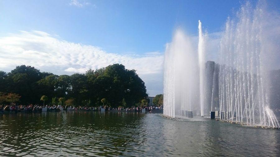 ПаркГорького парк горького цао якиманка фонтан Москва Moscow, Москва Moscow