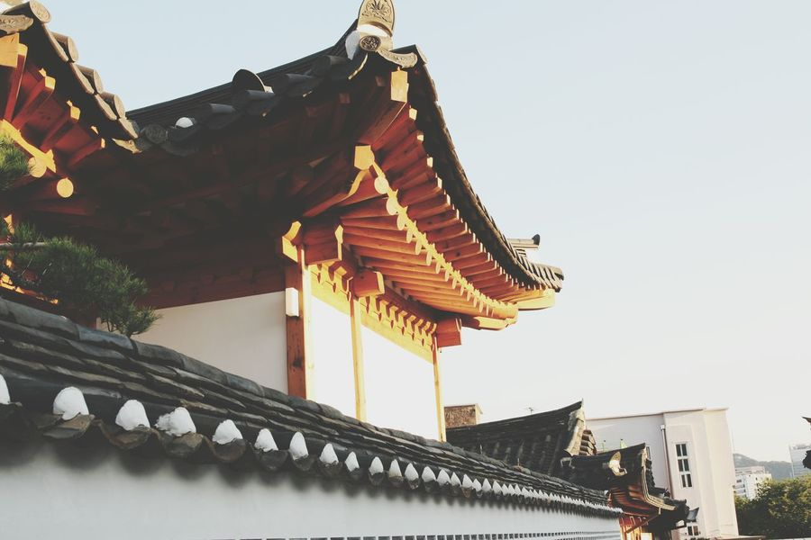 Seoul Building Traditional Korea