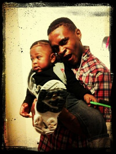 Bigg bro and lil man I love them #Family