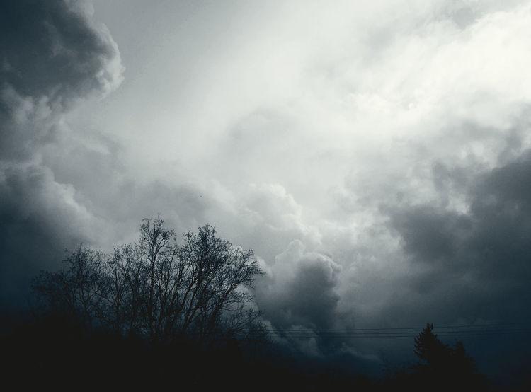 Chiaroscuro  Cloudscape Cloudporn Play Of Light