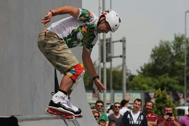 Urban Freestyle Fest RedBull Kanyon Inline Skating Skateboard Freerun Bmx  Istanbul Turkey Freelance Photoshoot