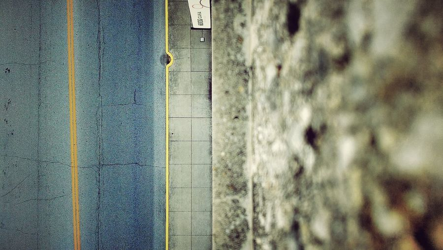 Look Out Below Look Down Street Concrete Asphalt Eight Stories Up