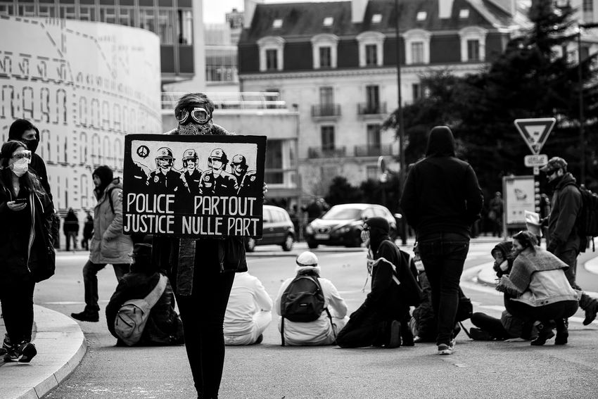 """Police partout Justice nulle part"" Manifestations du 09.04.16 à Nantes First Eyeem Photo Canon100D 9avril Loidutravail Manifestation Onvautmieuxqueça Protest Protesters Riots Street Streetphotography Nantes Nantesjetaime Manif9avril"