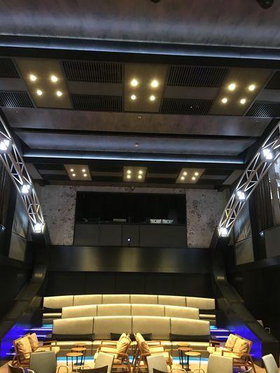 Mein Schiff 5 Illuminated Indoors  Ceiling Lighting Equipment Real People