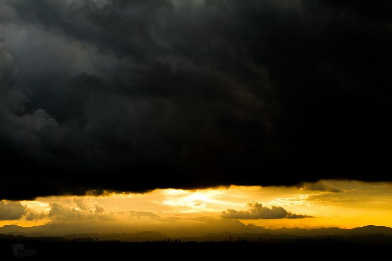 Cloudy golden