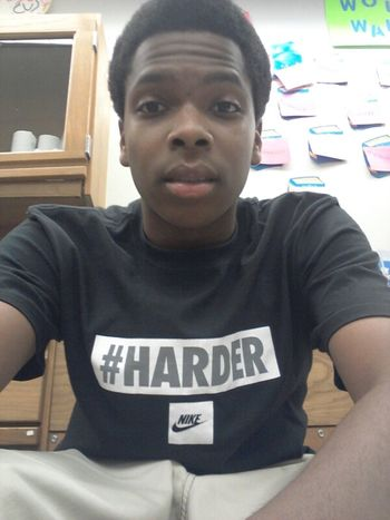 That's just me chilling In Class today