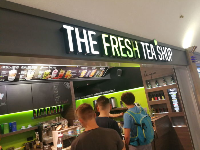The Fresh Tea Shop. Founded in 2011 in Saarbrücken, Germany, by two tea-crazy enthusiasts the Fresh Tea Shop provides creative tea specialties Beverage Beverages Drinks Fresh Tea Freshness Refreshment Tea Tea Is Healthy Thirst Thirsty  Drink Drinking Retail  Shop Store Tea - Hot Drink Tea Time The Fresh Tea Shop