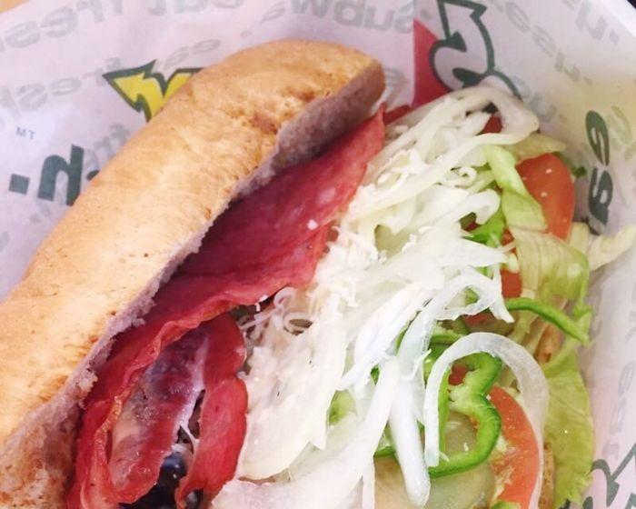 サブウェイ大好き! I love subway 💕 Lastyearmemory Wakayama,japan Subway Food Foodporn Sandwiches Yammy!!  Hello World