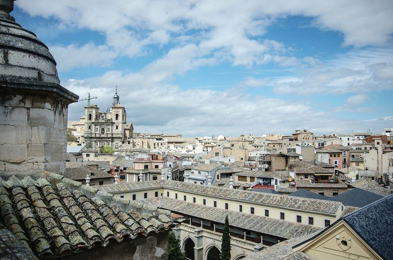Toledo Against Sky