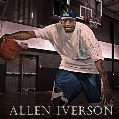Like Iverson Allen Alleniverson NBA man basketball allstar