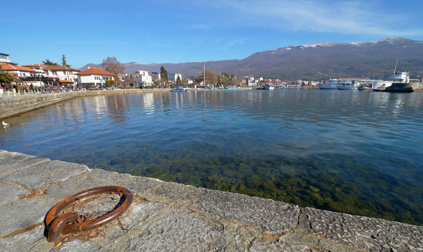 ohrid Balkans Day Lake Ohrid Macedonia No People Ohrid Lake Ohrid Macedonia Old City Old Town Outdoors Skopje Sky UNESCO World Heritage Site Water