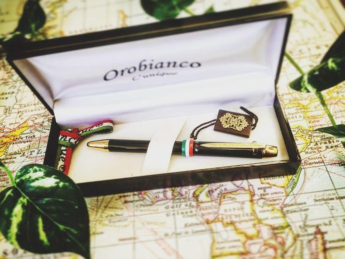 I bought a new pen!!!!! Orobianco Pen ボールペン Italy Italian 🎈👻