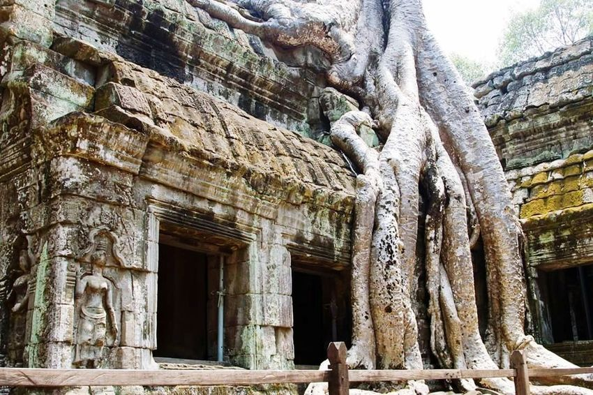 Architecture Ancient Built Structure Old Ruin History Ancient Civilization No People Outdoors Cambodia Angkor Wat, Cambodia Angkor Thom Tombraidertemple Khmer Culture Khmer Temple Khmer Empire