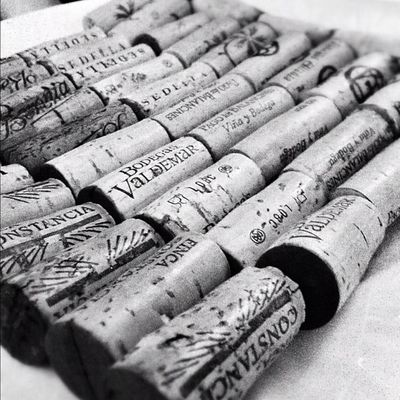 Colección de corchos del Wineuptour