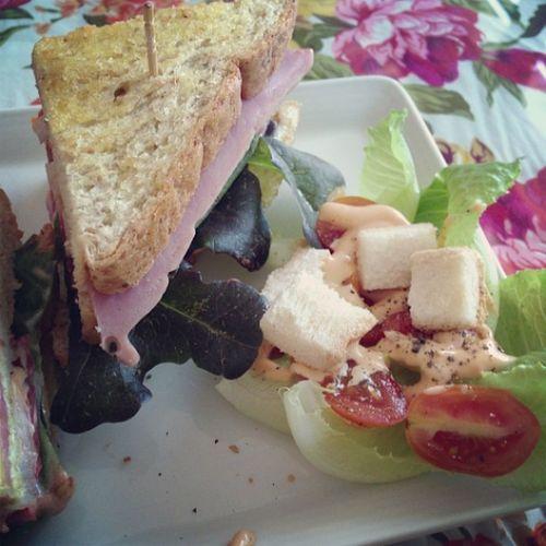 Club sanwich!! Clubsanwich Lunch Sandwich