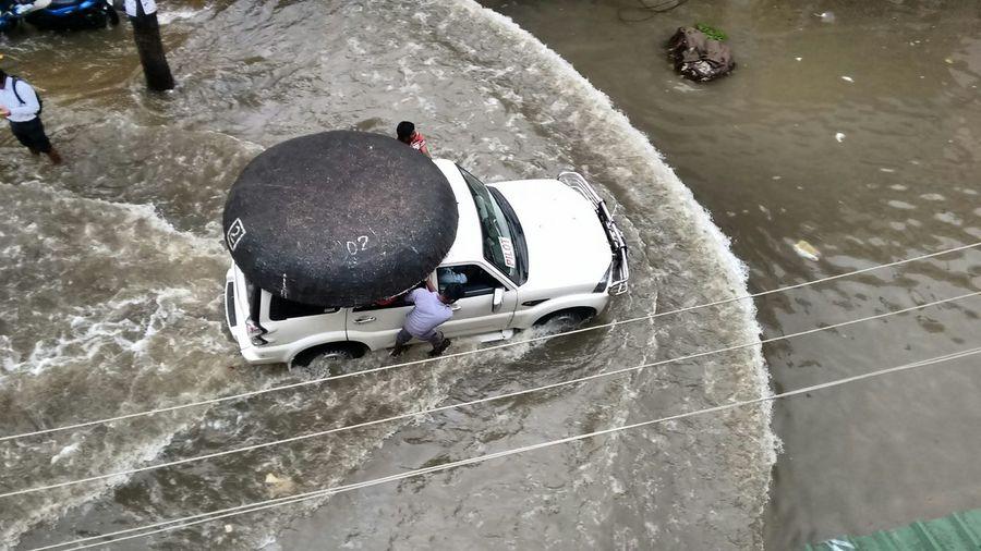 Showcase: December Capture The Moment Chennai Rain Rescue Team Car
