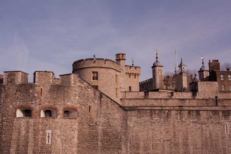 Tower of london against sky