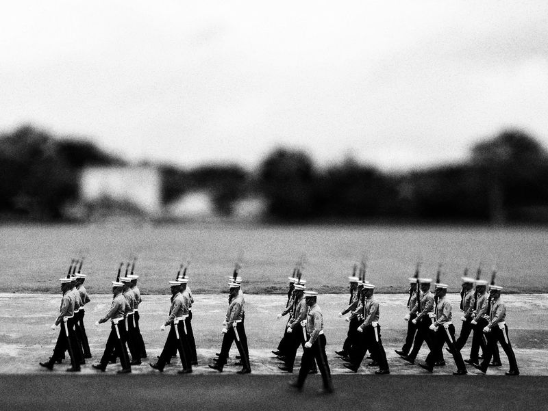 Military Army Soldier Standing Army Military Uniform Philippines Photos Black And White Black And White Collection  Black And White Photography Monochrome Photography Monochrome Streetphoto_bw Travel Destinations Huaweiphotography Analogue Photography Huawei P9 Leica Photography Themes Miniture Photogrpahy