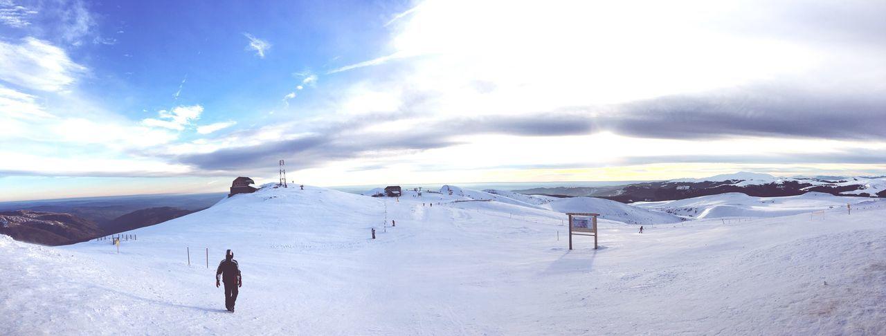 #2000m Snow Winter Sky Cold Temperature Nature Landscape Leisure Activity