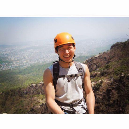 Hanging Out Mountain RockClimbing Enjoying Life That's Me Like This Weekend Smile Smile ✌ Mongolian